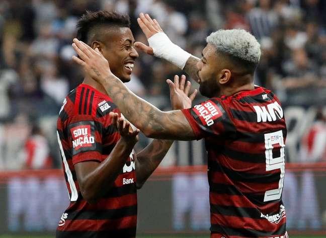 Bruno Henrique e Gabriel Barbosa fazem a diferença no Flamengo 21/07/2019 REUTERS/Amanda Perobelli