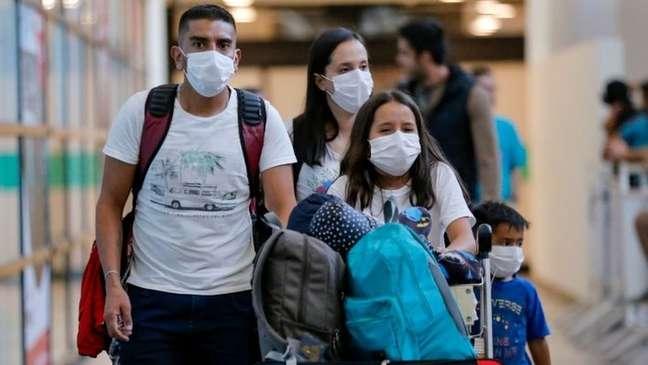 Quase todos os países da América Latina registraram casos do novo coronavírus