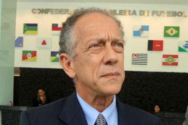 Walter Feldman é o secretário-geral da CBF (Foto: Igor Siqueira)