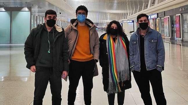 Junto com outros brasileiros que estavam em Wuhan, Alefy retornou ao Brasil em aviões da FAB