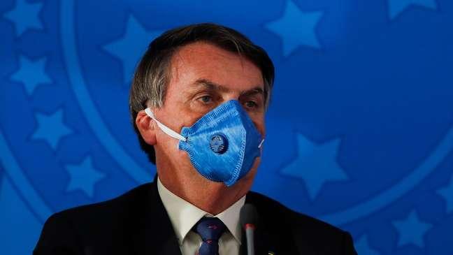 'Queremos evitar uma histeria porque o problema econômico agrava a questão do coronavírus', afirmou Bolsonaro nesta sexta-feira (20)
