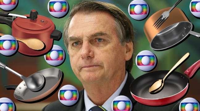 Jair Bolsonaro acusa a Globo de estimular atos contra ele em plena quarentena pela Covid-19