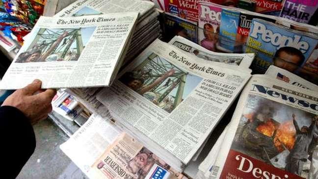 Os jornalistas americanos dos três veículos afetados não poderão trabalhar nem no continente nem em Hong Kong ou em Macau, regiões com mais liberdades