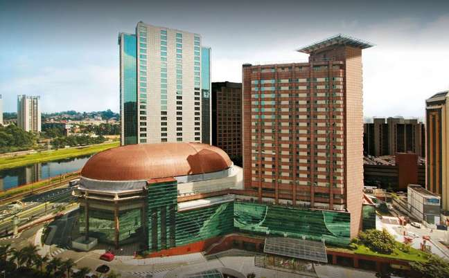 Vista do Sheraton São Paulo