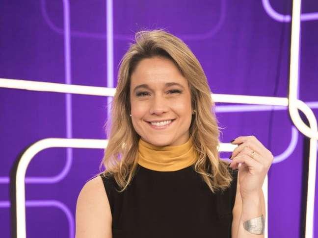 Fernanda Gentil é apresentadora do 'Se Joga', na TV Globo