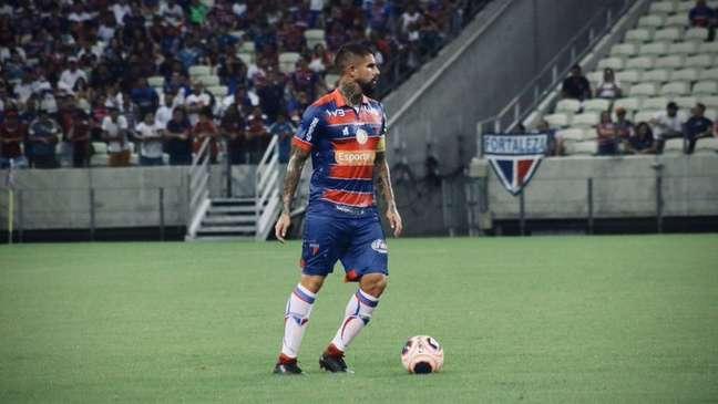 O colombiano Quintero renovou seu contrato com o Fortaleza até o fim de 2022 (Foto: Divulgação/Fortaleza)