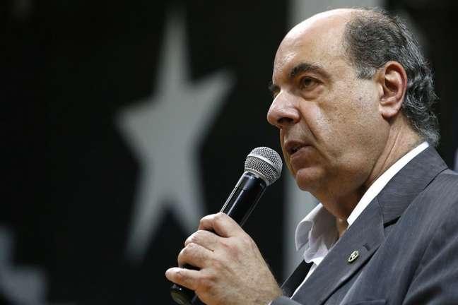 Diretoria comandada por Nelson Mufarrej tem lidado com problemas financeiros (Foto: Vitor Silva/Botafogo)