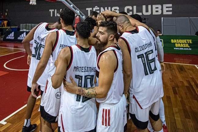 Flamengo lidera o NBB (Foto: Divulgação/Flamengo)