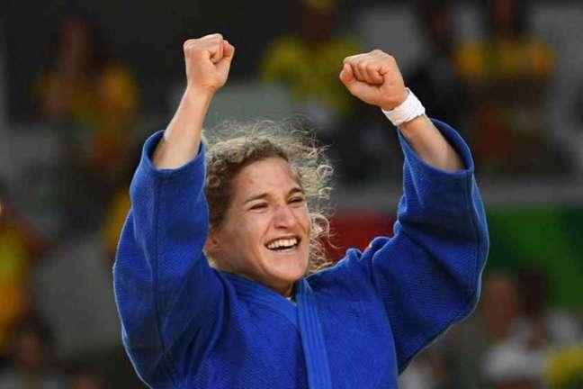 Paula Pareto conquistou o ouro nos Jogos Olímpicos do Rio de Janeiro (Foto: AFP)