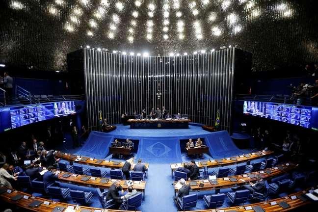 Plenário do Senado 22/10/2019 REUTERS/Adriano Machado