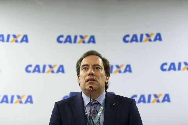 O presidente da Caixa, Pedro Guimarães.