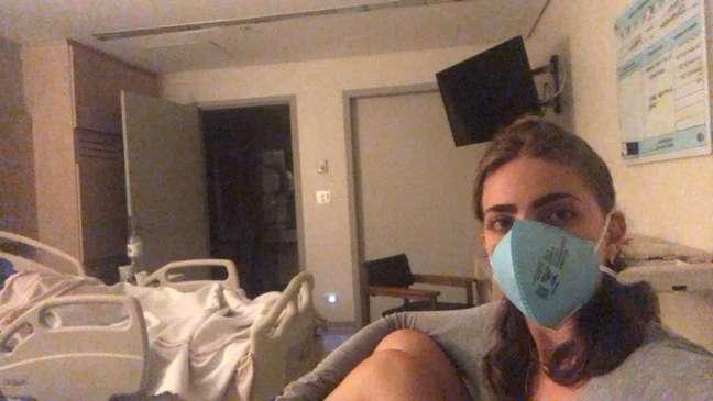 Rafaela e a família voltou ao Brasil já com os sintomas da doença e chegaram a ficar internados