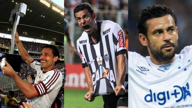 Bruno Haddad/Cruzeiro; Foto: Nelson Perez/Fluminense F.C.; Bruno Cantini/Atlético-MG/divulgação