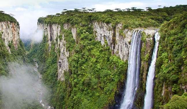 Aparatos da Serra fica no Rio Grande do Sul.