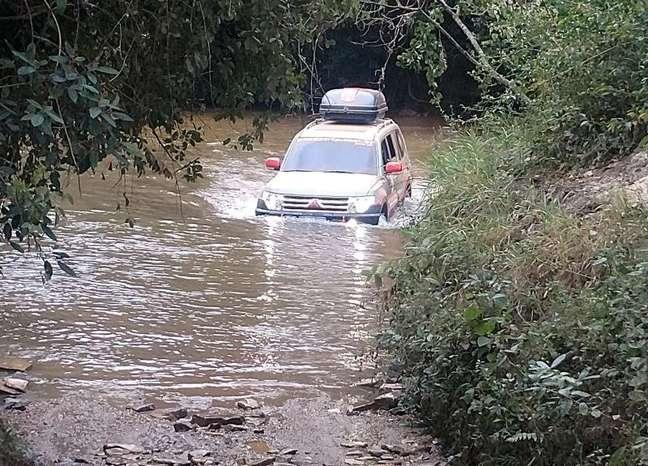 Travessia da Serra da Canastra, em Minas Gerais.