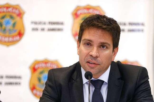 O delegado de Polícia FederalAlexandre Ramagem Rodrigues assumiu o comando da Agência Brasileira de Inteligência (Abin) no ano passado