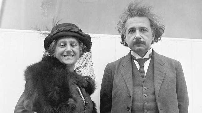 Elsa foi a segunda esposa de Einstein
