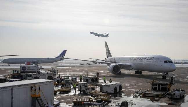 Vista de aerporto em Chicago 30/11/2018 REUTERS/Kamil Krzaczynski