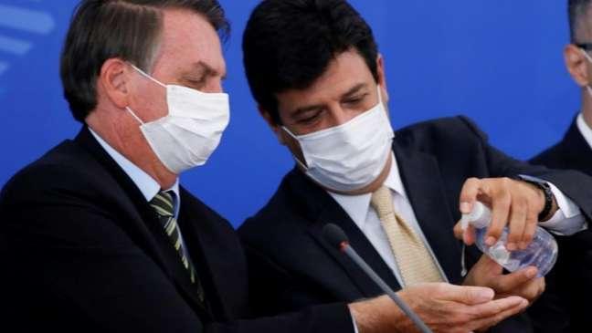 Mandetta não faz mais parte do governo Bolsonaro (Foto: AFP)
