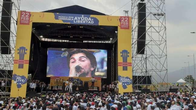 A Silvercorp fez parte da segurança do festival o Venezuela Aid Live, na fronteira colombiana.