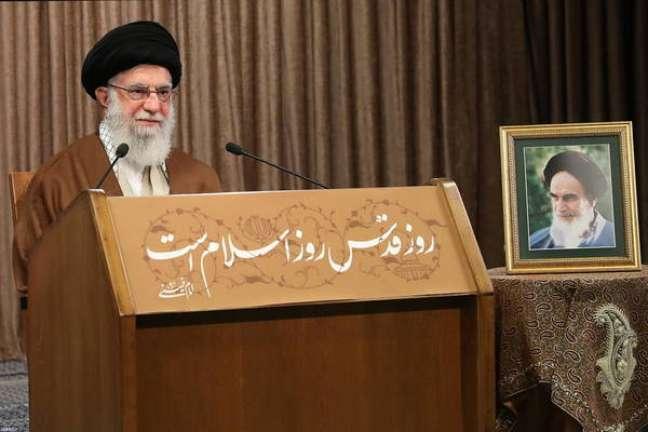 Ali Khamenei atacou Israel e defendeu luta dos palestinos
