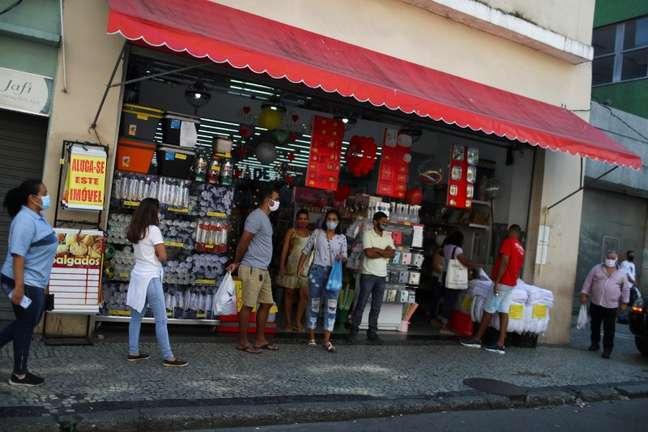 Comércio aberto no Rio de Janeiro 02/06/2020 REUTERS/Pilar Olivares