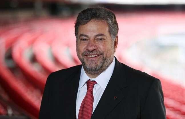 Julio Casares, candidato à presidência do São Paulo analisou o momento do clube (Foto: Rubens Chiri/saopaulofc.net)