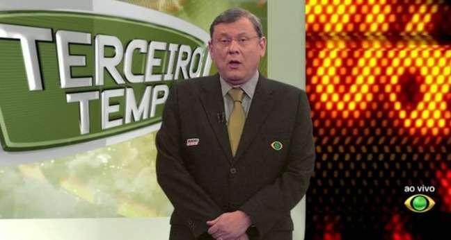 O apresentador Milton Neves