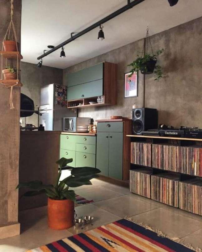 44. Cozinha decorada com pacová – Via: Pinterest
