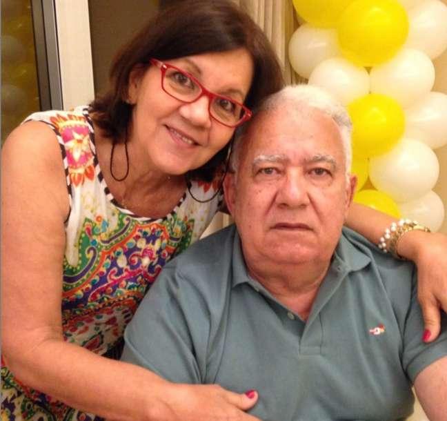 """Jussara e Armando são casados há 48 anos e enfrentaram alguns """"perrengues"""" na quarentena."""