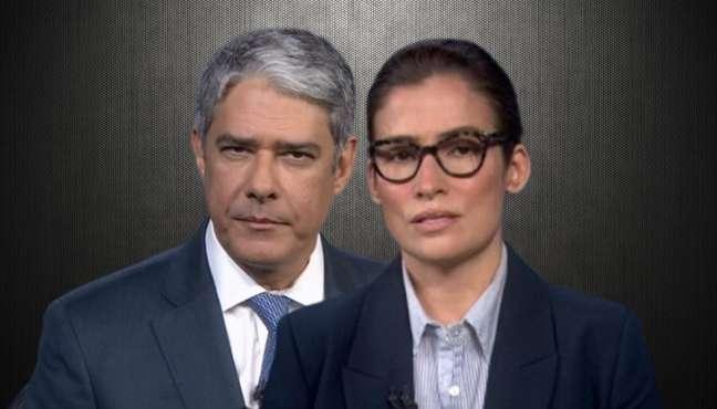 William Bonner e Renata Vasconcellos sofrem com os efeitos da superexposição na TV e do clima de ódio no País