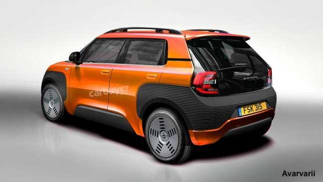 Futuro Fiat Panda poderá dividir a plataforma com o Peugeot 208.