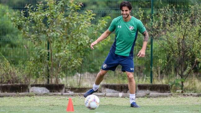 Hudson se surpreendeu com o bom início no Fluminense (Foto: Divulgação/Lucas Merçon)