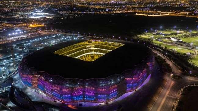 Education City, em Doha, é o terceiro estádio pronto para a Copa (Foto: Divulgação / Comitê Organizador Qatar 2022)