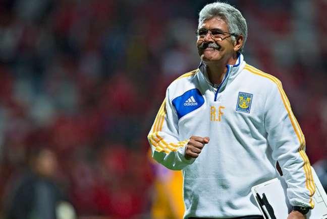 O comandante brasileiro tem contrato com o Tigres até 2024 e permanecerá como treinador dos felinos, cargo que assumiu em 2010 (Tigres)