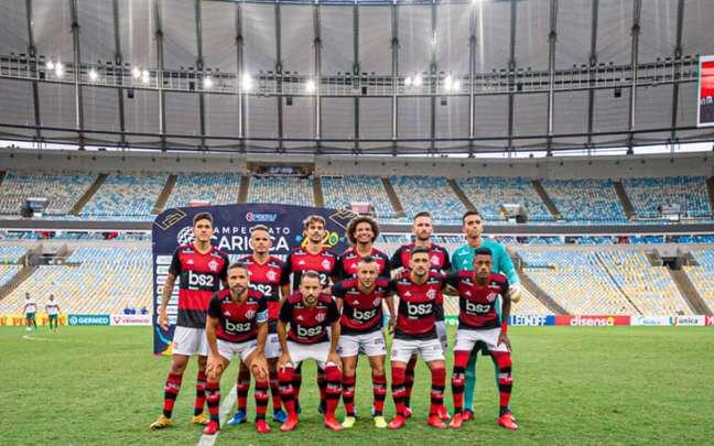 Flamengo voltará a jogar sem público no Carioca. Agora sem transmissão também? (Foto: Paula Reis / Flamengo)
