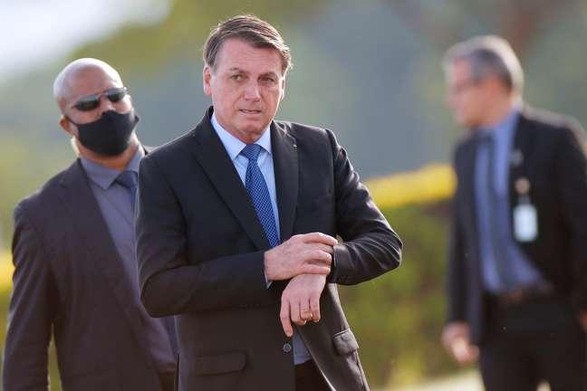 Presidente Jair Bolsonaro no Palácio da Alvorada 09/06/2020 REUTERS/Adriano Machado