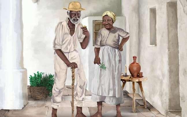Os Pretos-Velhos são entidades poderosas da Umbanda - Crédito: Léo Rubira