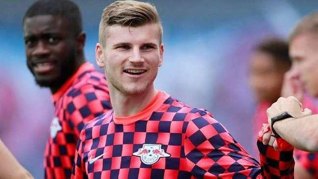 Chelsea anuncia a contratação do atacante alemão Timo Werner, do RB Leipzig