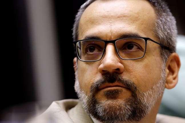 Abraham Weintraub na Câmara dos Deputados 15/05/2020 REUTERS/Adriano Machado
