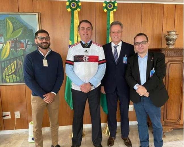 Landim afirma que a TV Globo pode transmitir a partida entre Bangu e Flamengo (Foto: Reproduçã/Instagram)