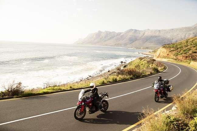 Triumph fez várias melhorias na moto para deixá-la mais confortável.