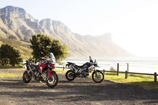 Novas motos Tiger 900 nas versões GT Pro e Rally Pro.