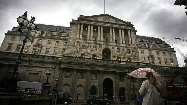 O Banco da Inglaterra tem ouro de mais de 30 países