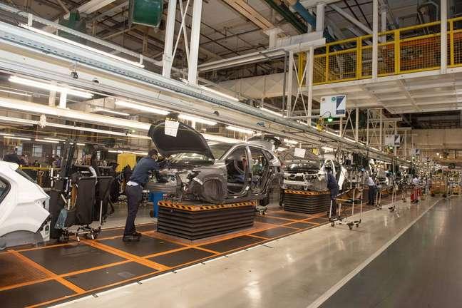 Fábrica da GM em São Caetano