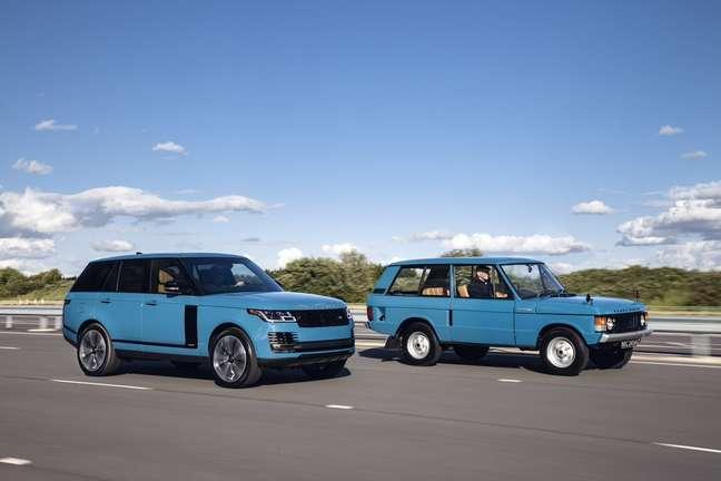 Range Rover Fifty é monstro de 525 cv perto do Range Rover original de 132 cavalos.