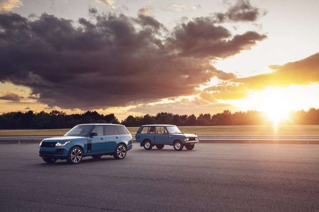O sol já se põe no império britânico, mas a glória do Range Rover mantém seu brilho.