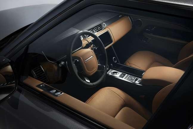 Interior do Range Rover Fifty: baseado na versão Autobiography.