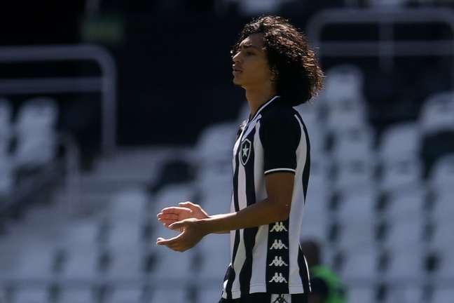 Matheus Nascimento é a principal promessa do Botafogo - (Foto: Vítor Silva/Botafogo)