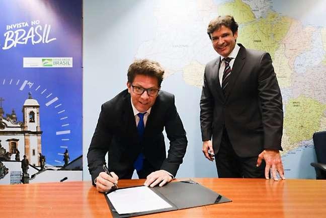 Mário Frias tomou posse como novo secretário Especial de Cultura nesta terça